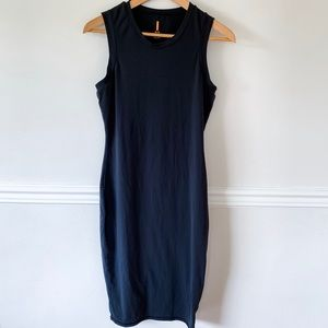 Lucy black sleeveless dress